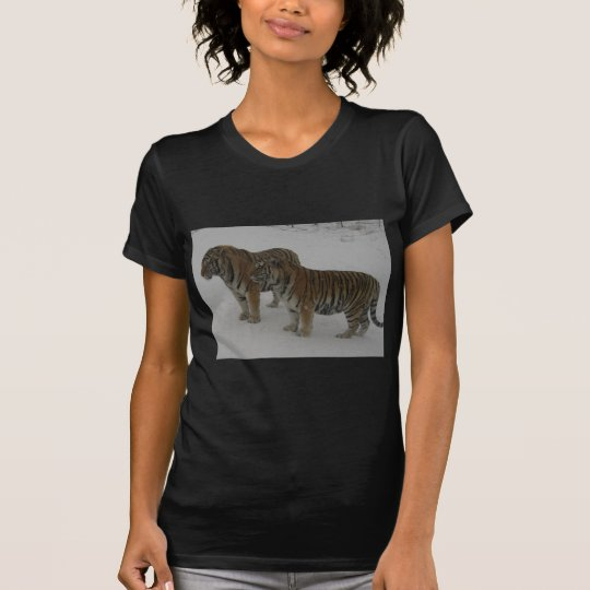 Mieten zwei sibirische Tiger T-Shirt
