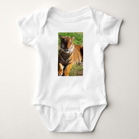 Mietmalaiischer Tiger Baby Strampler