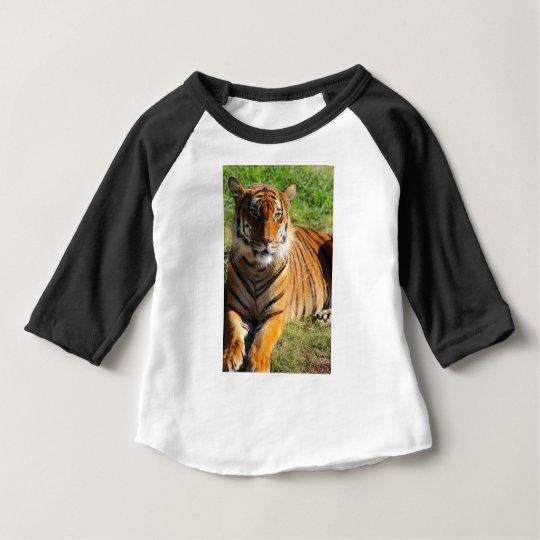 Mietmalaiischer Tiger Baby T-shirt