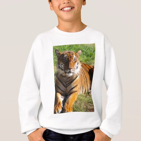 Mietmalaiischer Tiger Sweatshirt