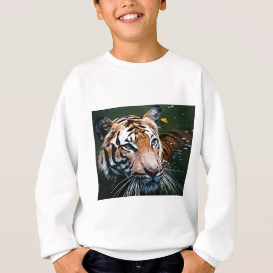 Miettiger im Wasser Sweatshirt