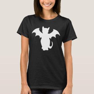 Miezekatze Lectro gotische Schläger-Katze T-Shirt
