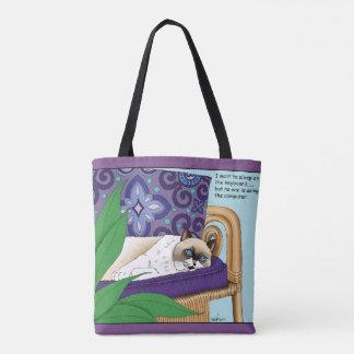 Miezekatze-Nichtstuer Tasche