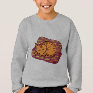 Miezekatzeschlafen Sweatshirt