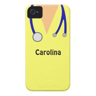 Mignon frotte la caisse personnalisée de Blackberr Coque iPhone 4 Case-Mate