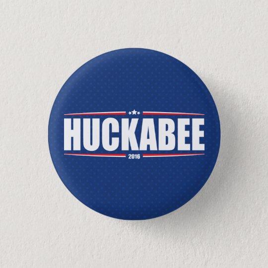 Mike Huckabee 2016 (Sterne u. Streifen - Blau) Runder Button 2,5 Cm