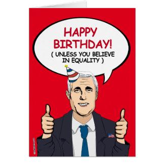 Mike-Pennys-Geburtstags-Karte - es sei denn Sie an Karte