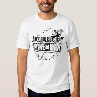 MIKENMATT Rock-and-Rollstern-T-Shirt Shirts
