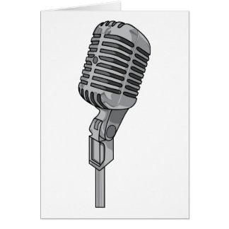 Mikrofon-Mike ~ solide Audiomusik Karte