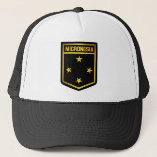 Mikronesien-Emblem Truckerkappe