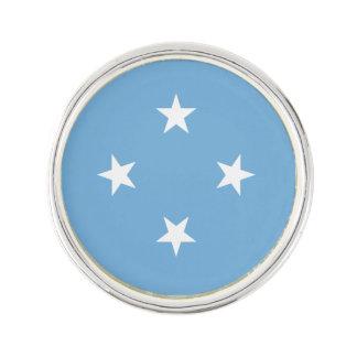 Mikronesien-Flagge Anstecknadel