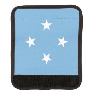 Mikronesien-Flagge Gepäck Markierung