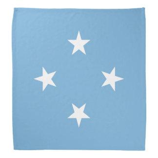 Mikronesien-Flagge Halstuch