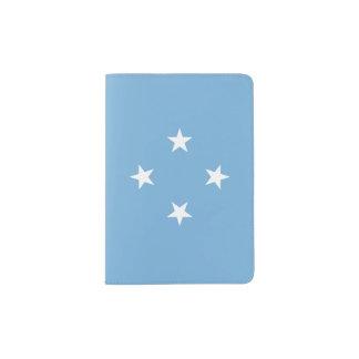 Mikronesien-Flagge Passhülle