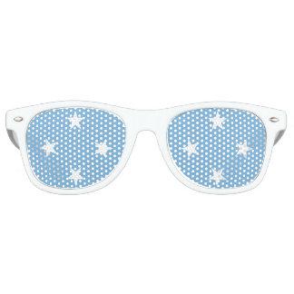 Mikronesien-Flagge Retro Sonnenbrillen