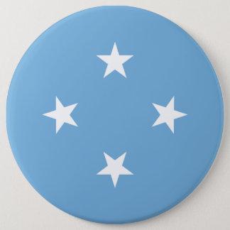 Mikronesien-Flagge Runder Button 15,3 Cm