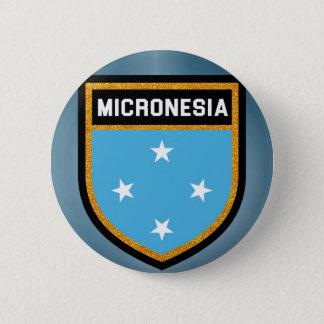 Mikronesien-Flagge Runder Button 5,1 Cm