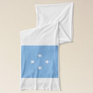 Mikronesien-Flaggen-Leichtgewichtler-Schal Schal