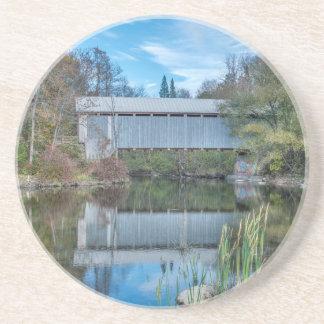 Milby überdachte Brücke Getränkeuntersetzer