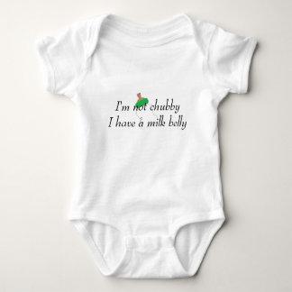 Milch-Bauch Bodysuite Baby Strampler