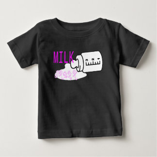 Milch betrunken baby t-shirt