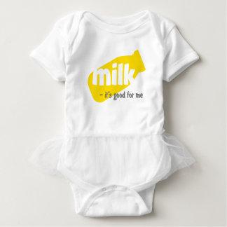 Milch - es ist für mich gut baby strampler