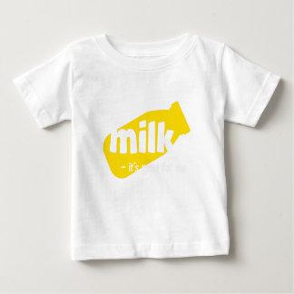 Milch - es ist für mich gut baby t-shirt