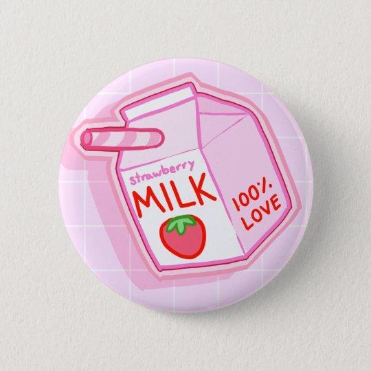 Milch-Knopf Runder Button 5,1 Cm