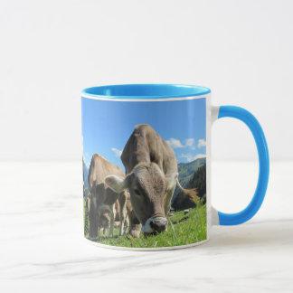 Milch-Kuh-Tasse Tasse