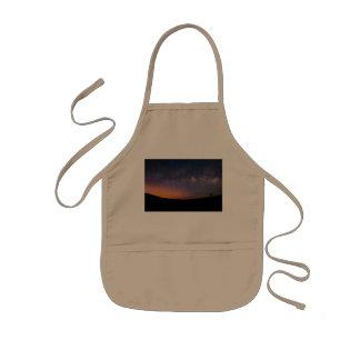 Milchstraße Death Valley Sonnenuntergang Kinderschürze