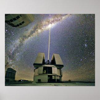 Milchstraße-Galaxie-Plakat Poster