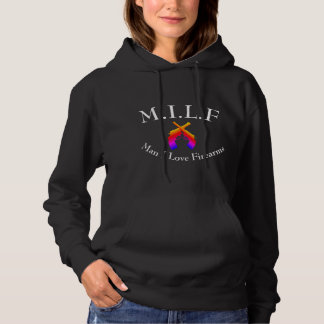 MILF-, Liebe-Feuerwaffen des Mann-I Hoodie