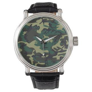 Militär tarnt armbanduhr