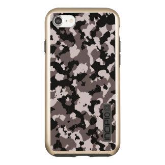 Militär tarnt Camouflage des Muster-| Brown Incipio DualPro Shine iPhone 8/7 Hülle