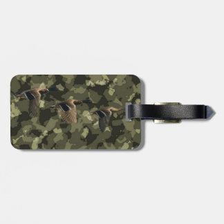 MilitärCamouflagetarnungs-Stockentenente im Freien Gepäckanhänger