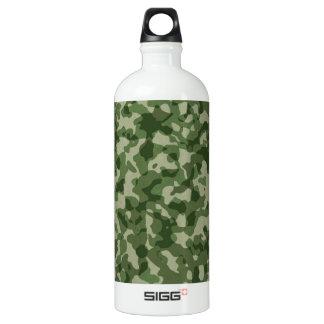 Militärdschungel-Grün-Tarnung Wasserflasche