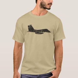 MilitärKampfflugzeug-Lautalphabet T-Shirt