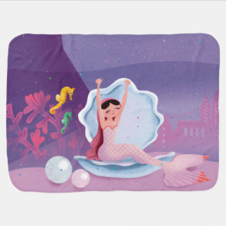 Milla die Meerjungfrau-Baby-Decke Baby-Decken