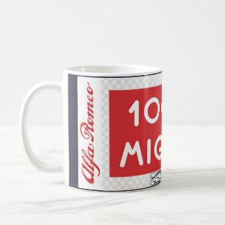 Mille Miglia Alpha-Romeo-TASSE Kaffeetasse