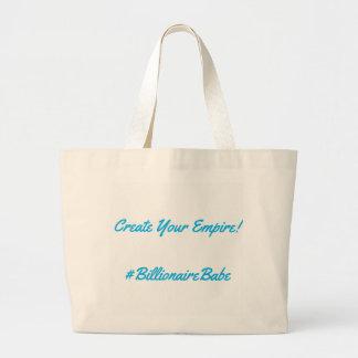 Milliardärs-Baby-Tasche Jumbo Stoffbeutel
