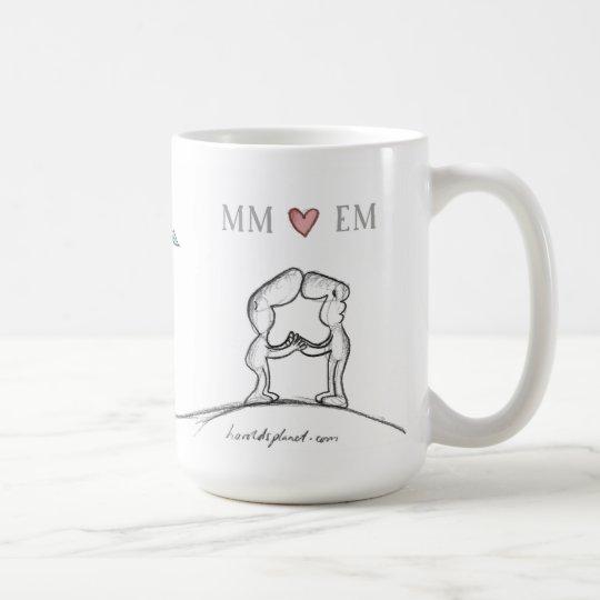 Millimeter-Herz EM Kaffeetasse