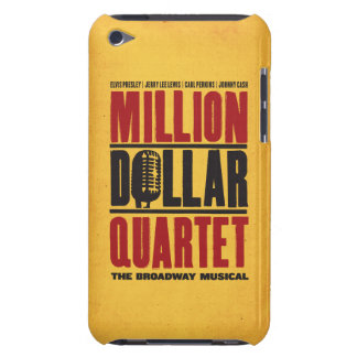 Million de logo de quartet du dollar étui barely there iPod