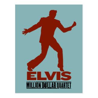 Million Dollar-Quartett Elvis Postkarte