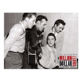 Million Dollar-Quartett-Foto Postkarte