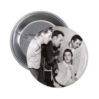 Million Dollar-Quartett-Foto Runder Button 5,1 Cm