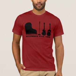 Million Dollar-Quartett-Instrumente - Schwarzes T-Shirt