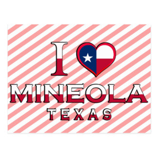 Mineola, Texas Postkarte