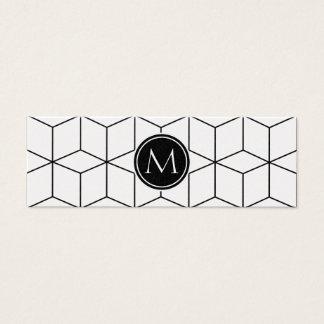Mini Carte De Visite Moderne