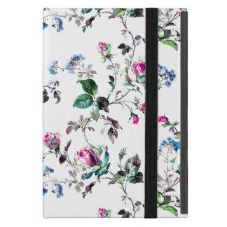 Mini cas d'iPad floral blanc Coques iPad Mini