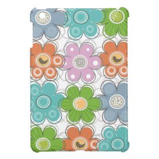 Mini cas d'iPad floral de décor Coque Pour iPad Mini